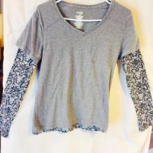 Danskin LS T-Shirt, SZ LG